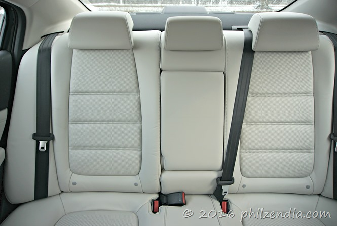 Mazda rear seats