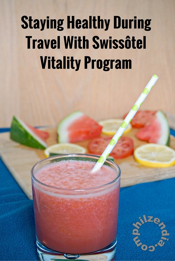 Staying Healthy During Travel With Swissôtel Vitality Program