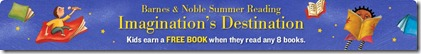 Barnes Noble summer reading 2011