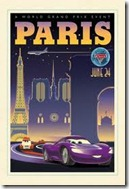 cars 2 paris movie poster