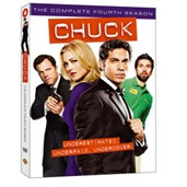 Chuck: The Complete Fourth Season on DVD/Blu-Ray
