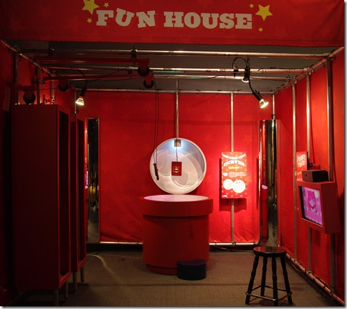 Part of the Math Midway exhibit at the Liberty Science Center