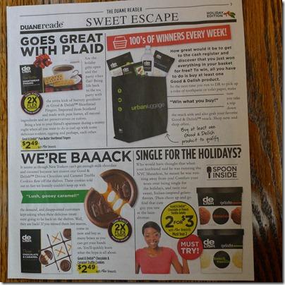Duane Reader Magazine - Shortbread Cookies