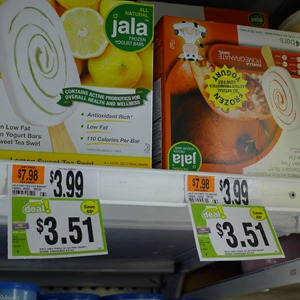 Jala Frozen Yogurt bars