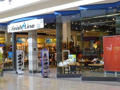 Finish Line shoe store