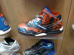 Reebok Spiderman shoes