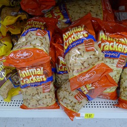 Animal Crackers at Walmart