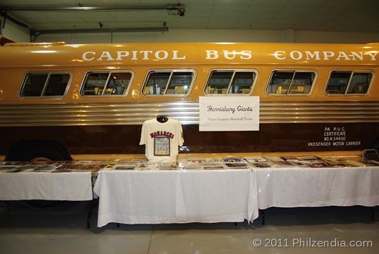 Negro League Baseball Team bus