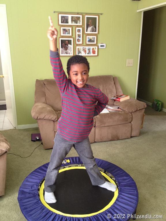 J Is For Jumping Urban Rebounder Folding Trampoline
