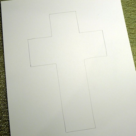 traced cross