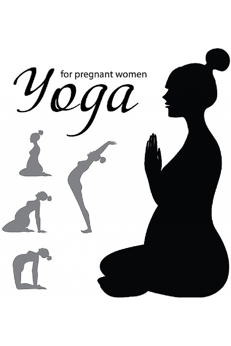 Yoga exercises for pregnant women