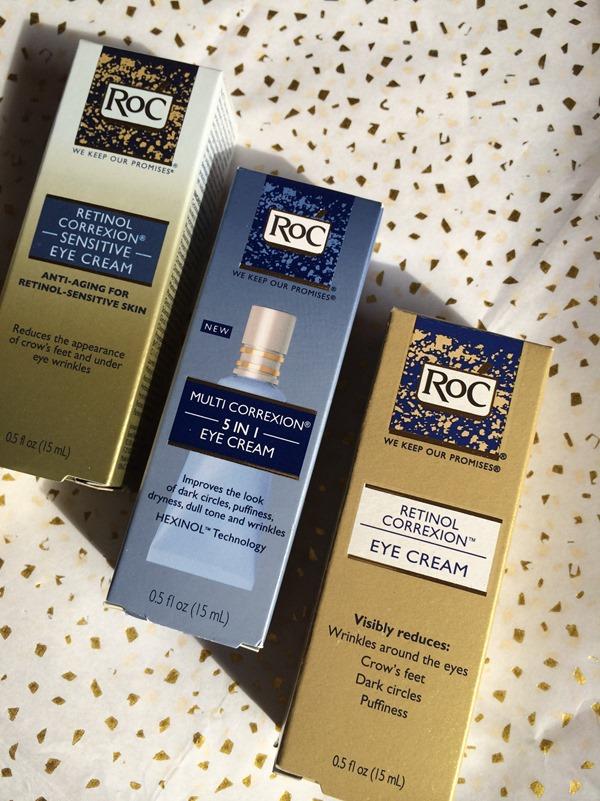 RoC eye cream products
