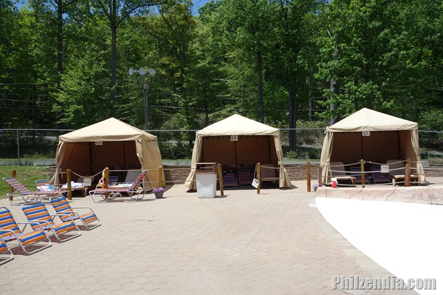 Cabanas At Camelbeach Mountain Waterpark