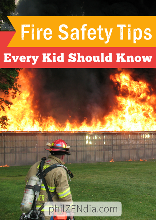 Fire Safety Tips Every Kid Should Know