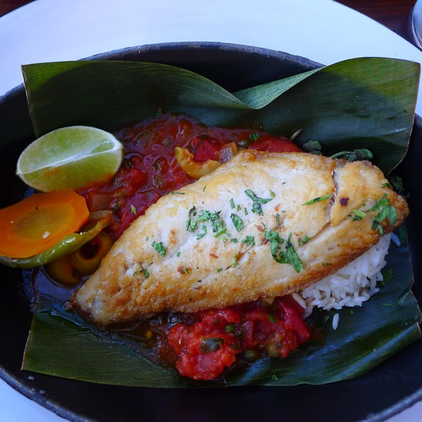 Pescado Veracruzano (Red Snapper) at Dos Caminos at Harrah's Atlantic City #DOAC ©Philzendia.com