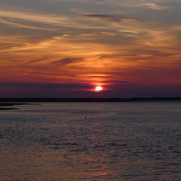Sunset seen from the Atlantic City Water Front #DOAC ©Philzendia.com