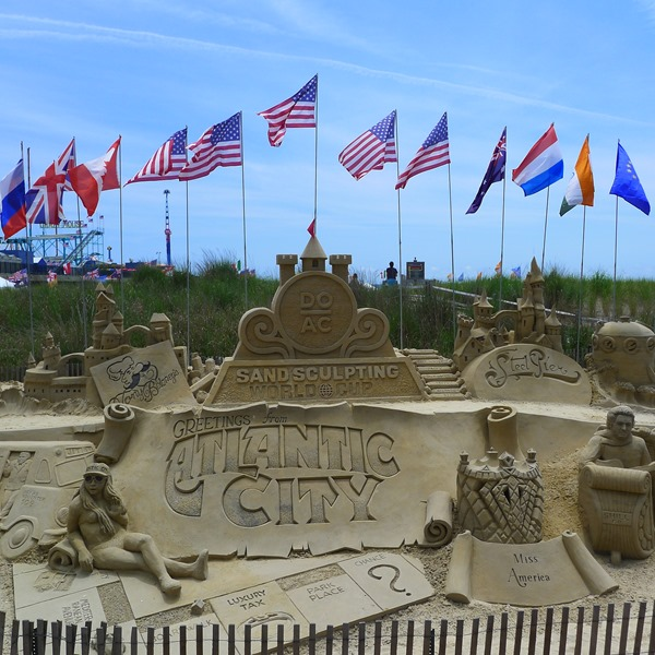 SandSculpting World Cup at Atlantic City #DOAC ©Philzendia.com