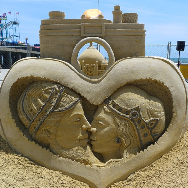 Sand Sculpture seen at the Sand Sculpting World Cup at Atlantic City #DOAC ©Philzendia.com