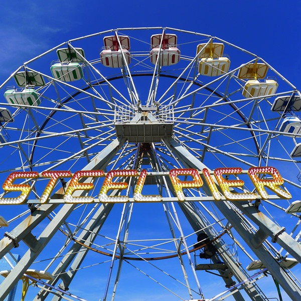 Ferris Wheel at Steel Pier in Atlantic City #DOAC ©Philzendia.com