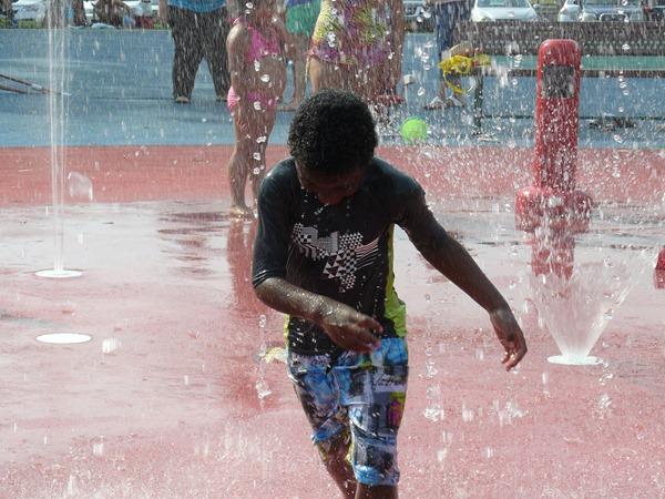Ponderosa Park Sprinkler Park