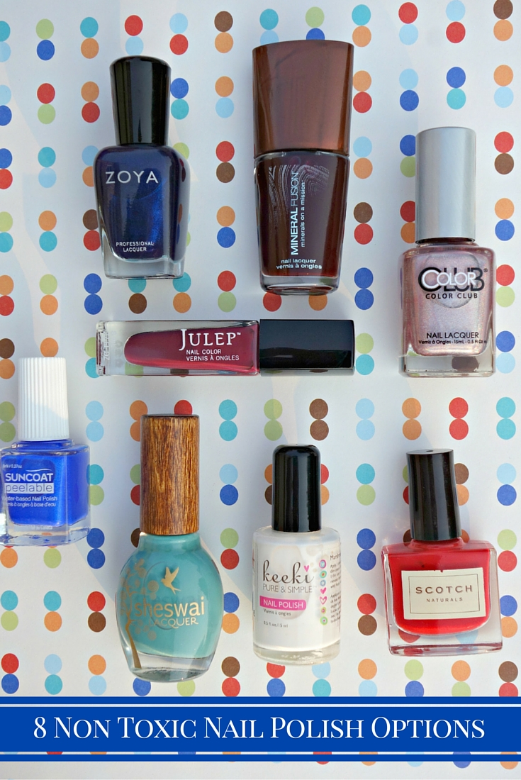 Non Toxic Nail Polish List