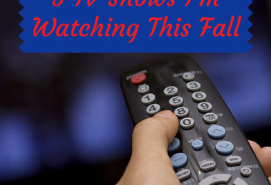 5 TV Shows I'm Watching This Fall
