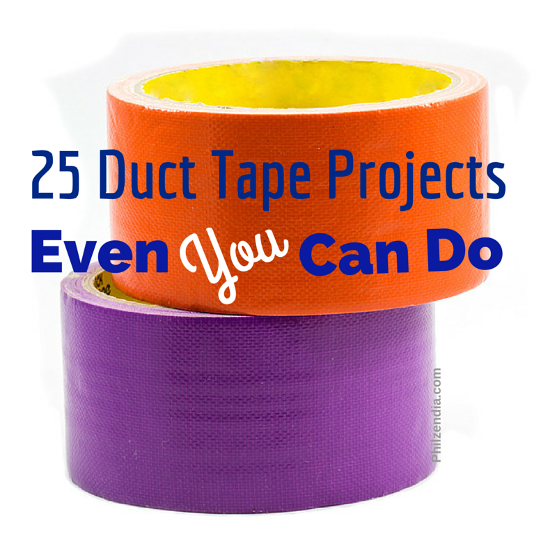 25 Duct Tape Crafts And Projects Even You Can Do