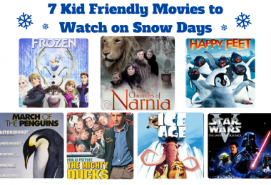 7 Kid Friendly Movies to Watch on Snow Days