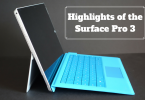 Highlights of the Surface Pro 3