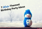 Winter Themed birthday party ideas