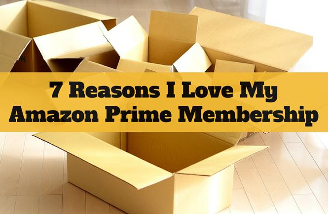 7 Reasons I Love My Amazon Prime Membership