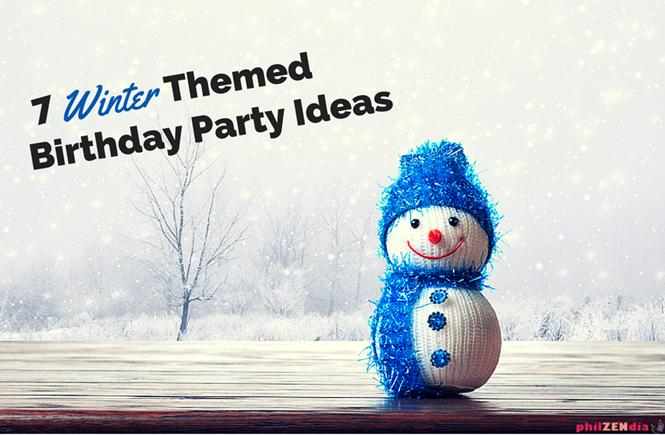 7 Winter Birthday Party Ideas