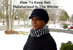 How to keep your hair moisturized in the winter