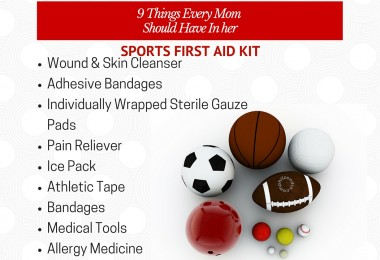 How to Create the Perfect Sports First Aid Kit