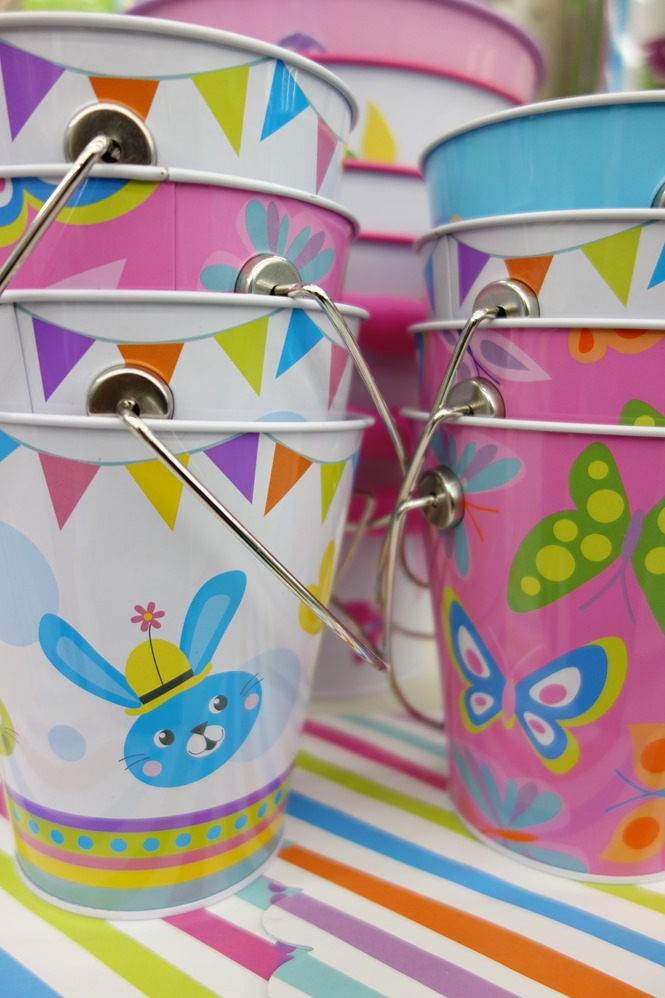 Metal Easter Pails available at Walmart