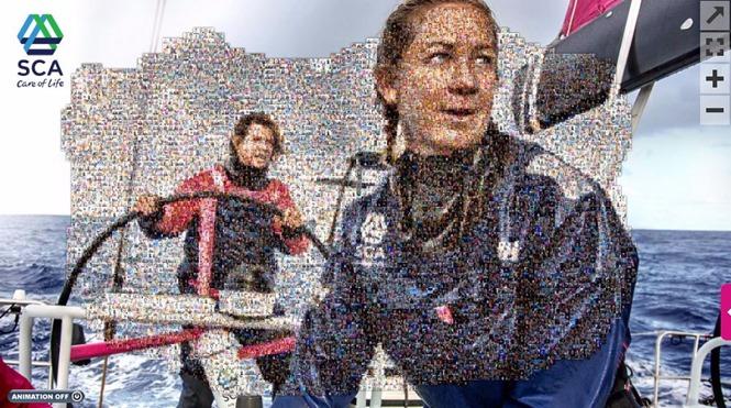 SCA photo mosaic for Amazing Women Everywhere