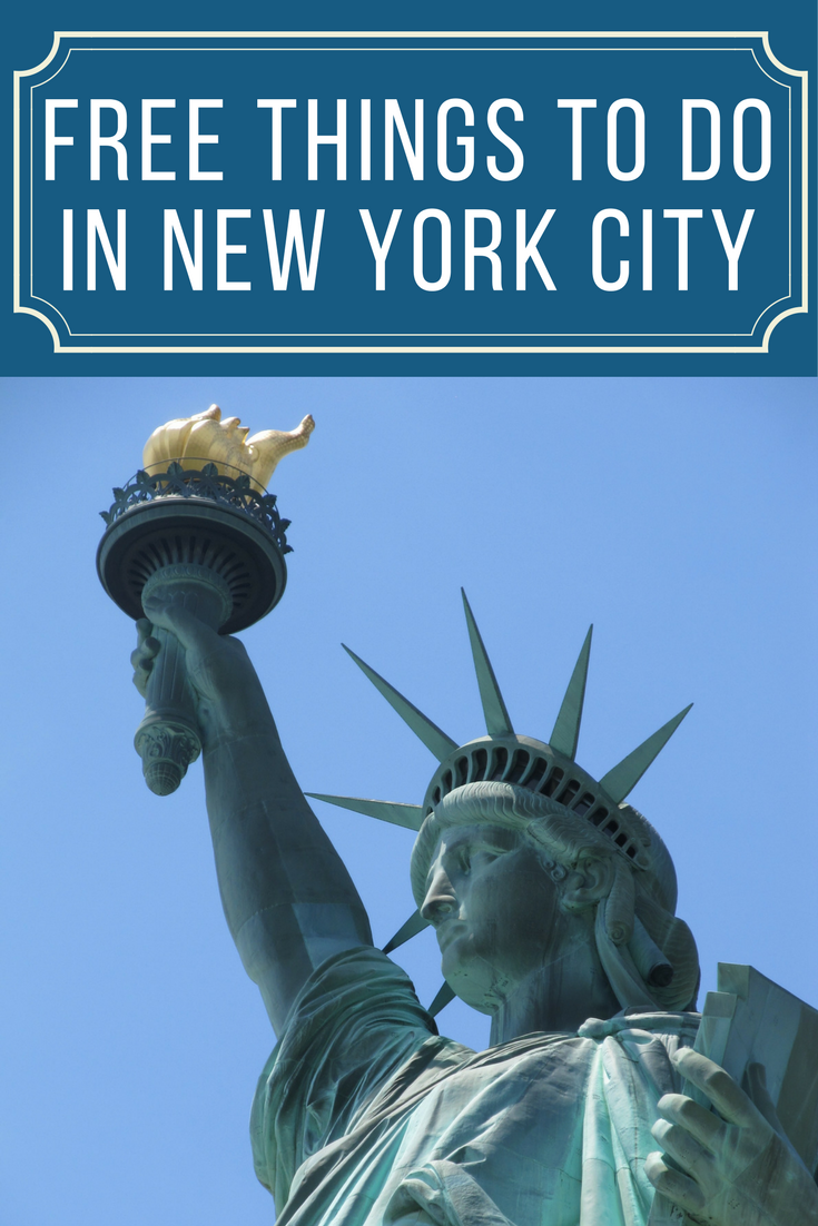 Free things to do in new york city for New york thing to do