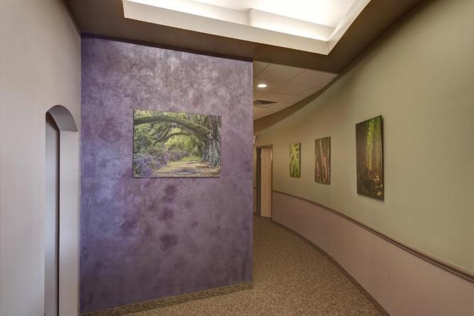 massage envy hallway