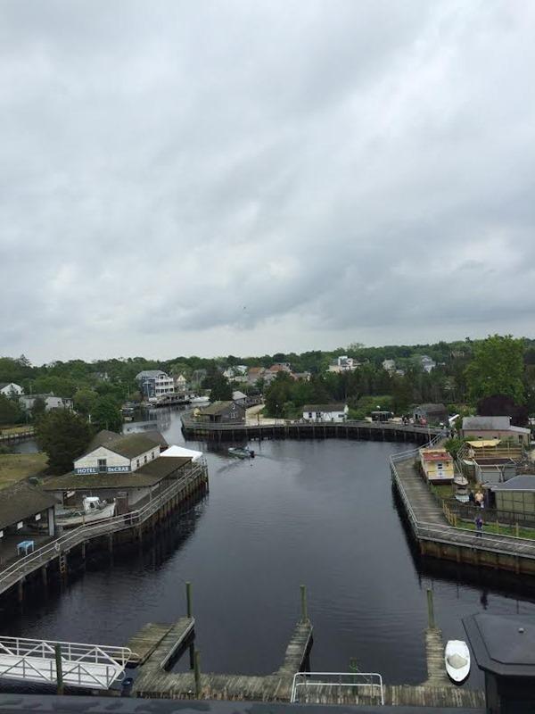 view fromm tuckerton seaport lighthouse