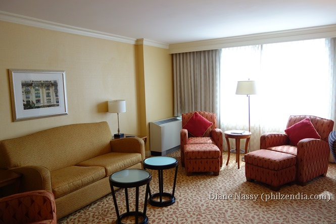 Our room at Baltimore Marriott Inner Harbor