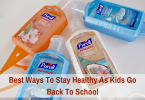 Best Ways To Stay Healthy As Kids Go Back To School