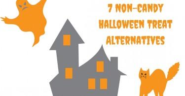 7 Non-Candy Halloween Treat Alternatives