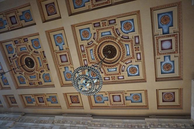 ceiling at Union Station Kansas City