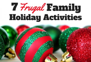 7 frugal family holiday activities