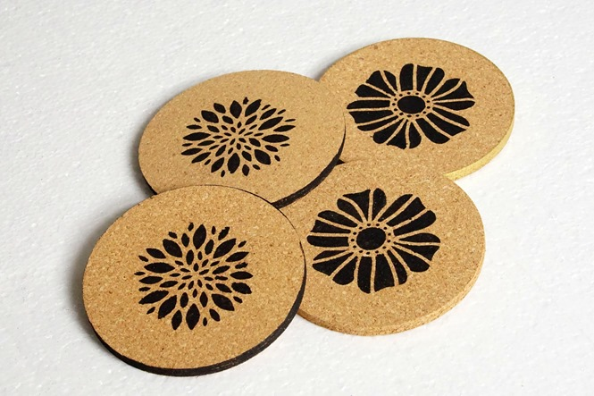 Do It Yourself Cork Coasters