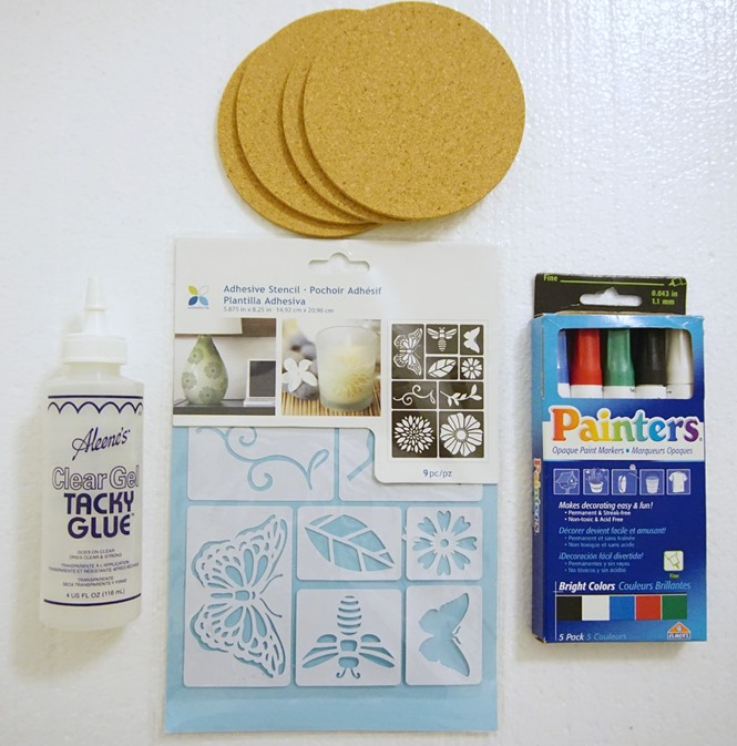 supplies for do it yourself cork coaster