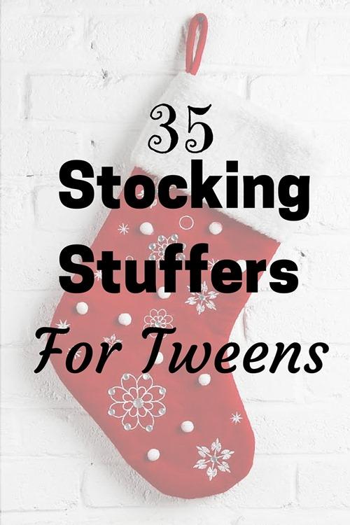 35 Stocking Stuffers for Tweens