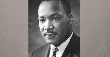 Image of MLK jr - public domain image