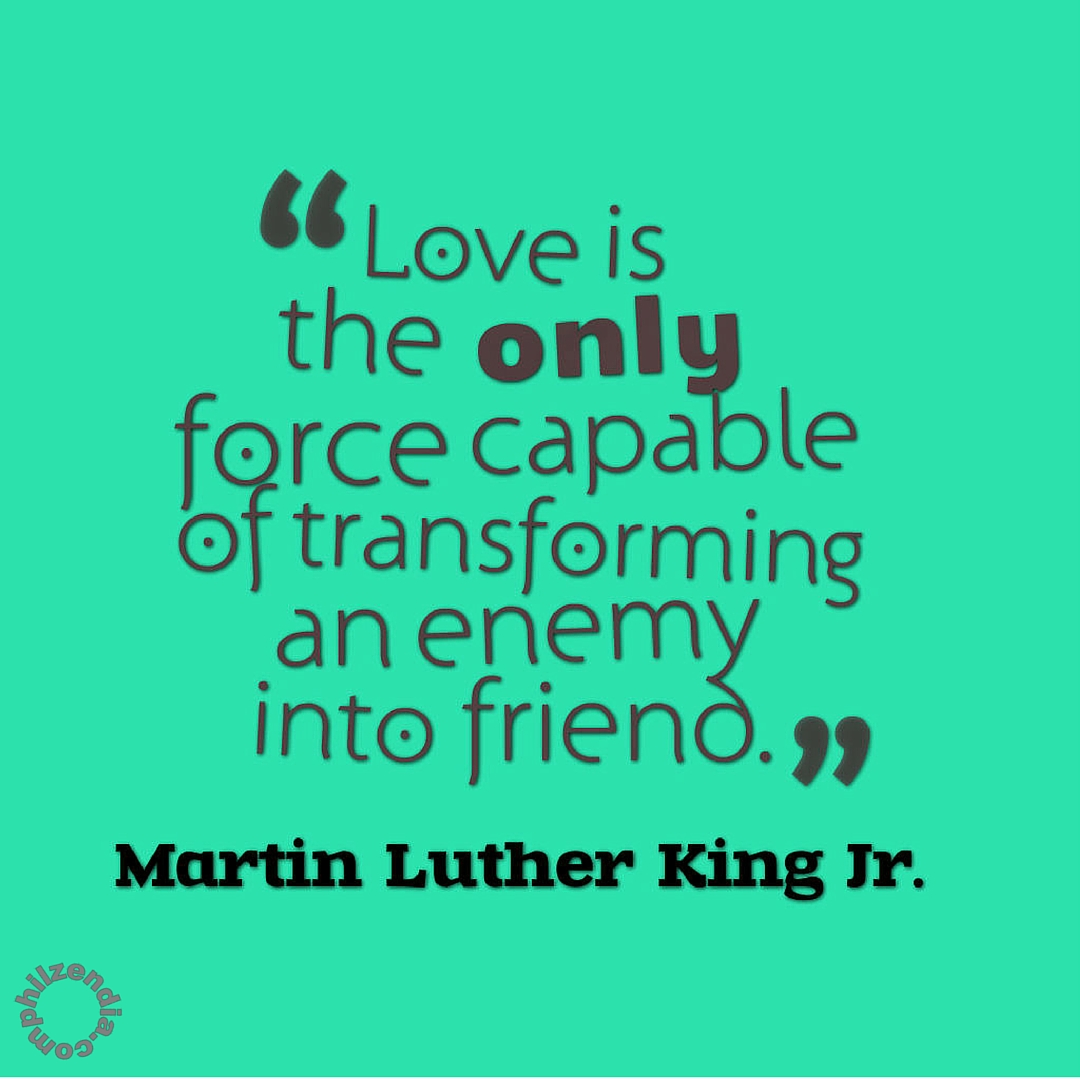 Love Is Quotes: 25 Of The Best Martin Luther King Jr Quote