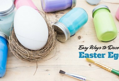 20 Easy Ways to Decorate Easter Eggs